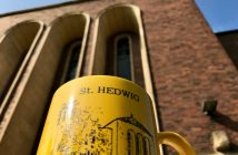 """Die Misereor-Aktion """"Coffee Stop"""" 2017 in St. Hedwig"""