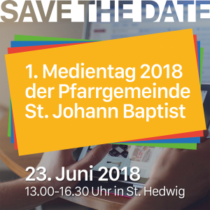 Medientag 2018 - SAVE THE DATE